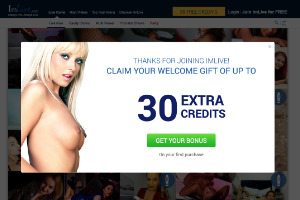 ImLive cam model site screenshot 3